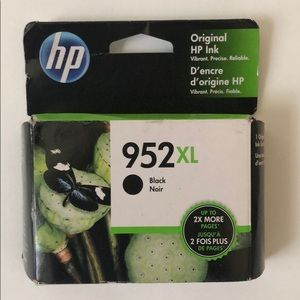 New HP ink 952XL in black